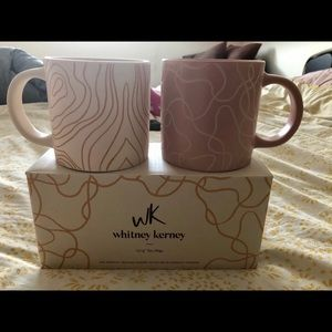 Brand New in Box Whitney Kearney Mugs Pair